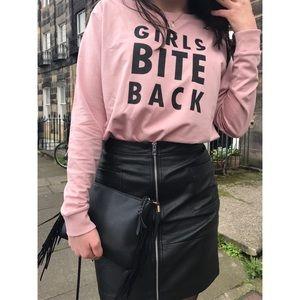 H&M girls bite back sweater
